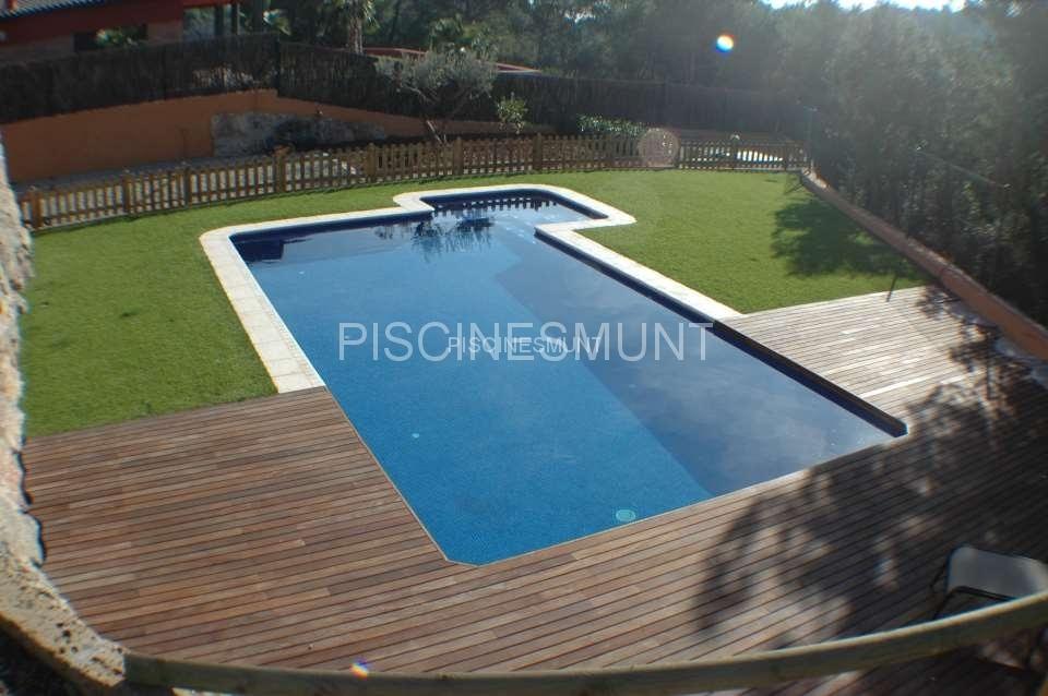 Piscinas de dise o piscinas munt venta de material para for Ofertas piscinas desmontables rectangulares