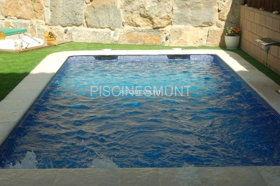 Piscinas rectangular piscinas munt venta de material for Ofertas piscinas desmontables rectangulares
